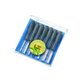 Mini-decoration kit 7 tools - ABS handle