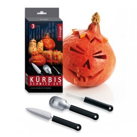 Triangle Pumpkin Carving set, 3 Pieces