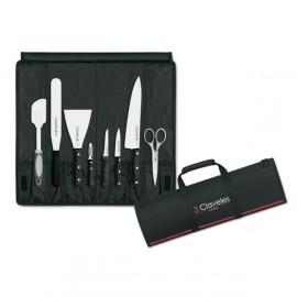 Chef Roll Knives - Uniblock 3 Claveles