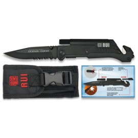 TACTICAL Pocket knife RUI - TITANIUM & Flashlight