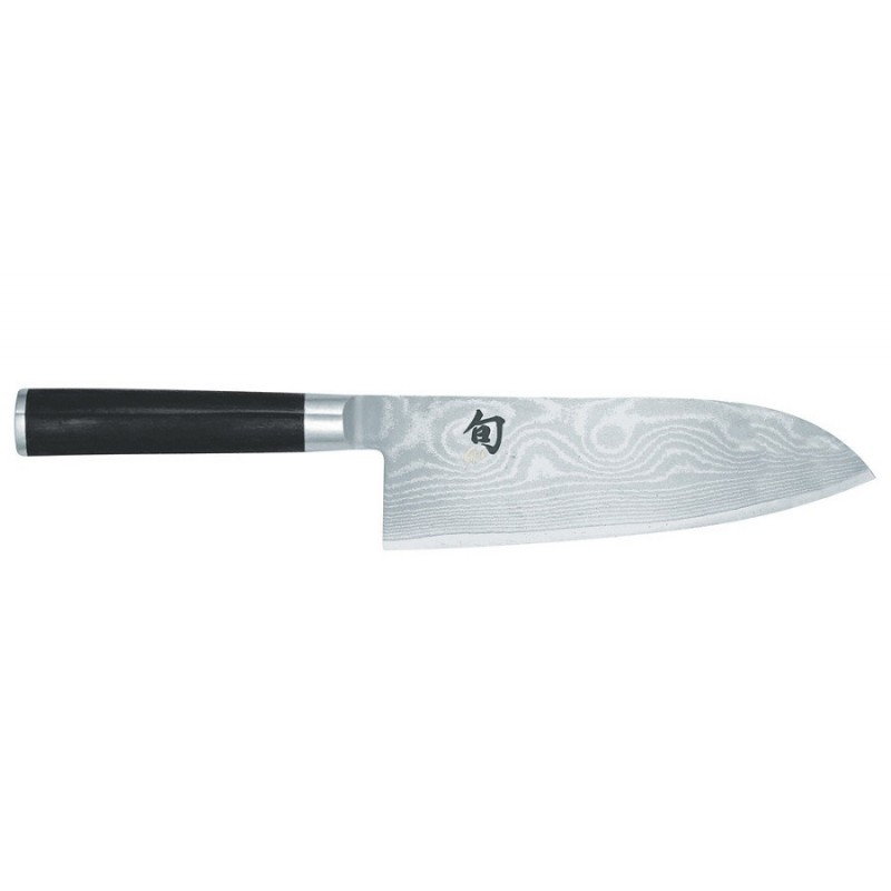 Kai shun dm 7017 cuchillo santoku 18 cms kai shun for Cuchillo santoku