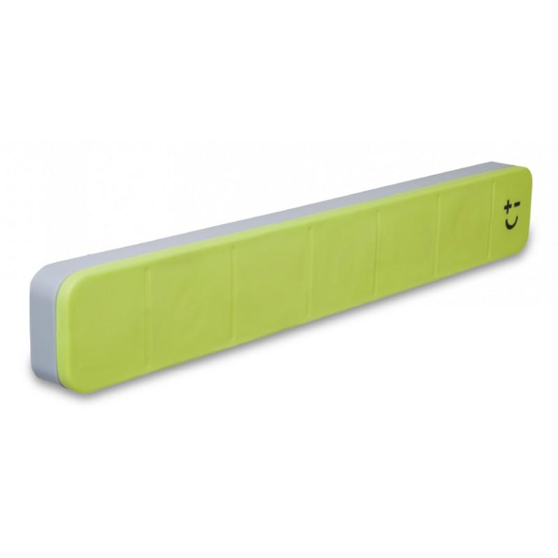 bisbell barre magnetique pour couteau soft touch verte 30 cms. Black Bedroom Furniture Sets. Home Design Ideas