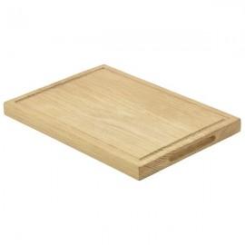 Genware Oak Wood Serving Board 28 x 20 x2 cm