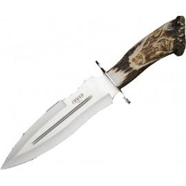 Cuchillo Serie Leon tallado