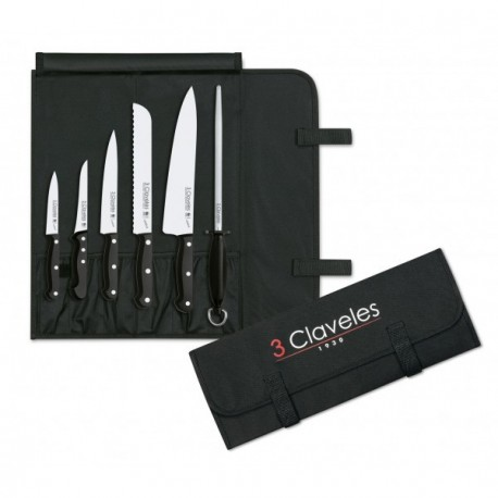 3 Claveles 1704 Set Cook Knives