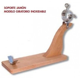 Support Ham Gyratory - Wood & Stainless