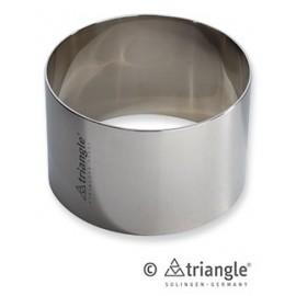 Aro Inoxidable para Emplatar 8 cms - Triangle