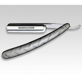 Razolution Vintage Straight Razor, Aluminum Handles