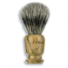 3 Claveles 12700 Badger Shaving Brush/Olive