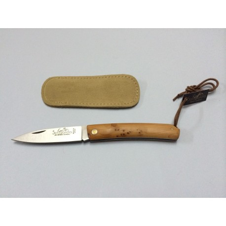 SALAMANDRA PocketKnife Yew wood - 120041