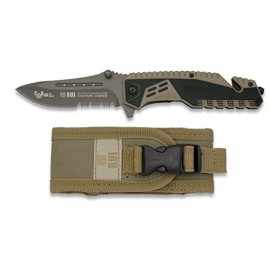RUI 19443A Serrated ATTRACTION 2-FAST OPENING POCKET KNIFE 8.9 cms