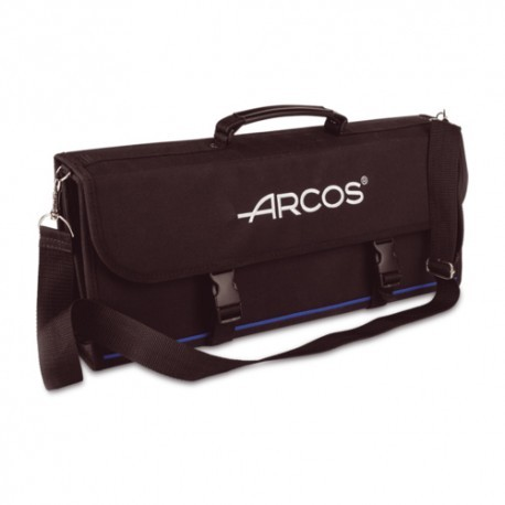 Arcos Knife roll bag, 17 pieces