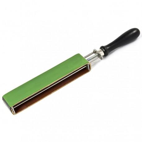 Asentador/Suavizador Streich-Riemen con pasta verde