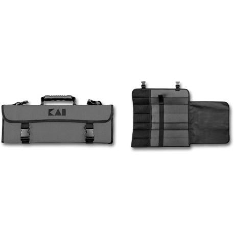 KAI SHUN DM-0780 Knife Bag, for 9 large and 8 small knives