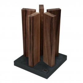Kai Stonehenge empty stand 10 pieces stainless steel/oak