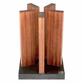 KAI Shun Stonehenge knife block, for 10 knives