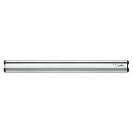 3 Claveles 01693 Aluminum Magnetic Knife Rack 45 cm