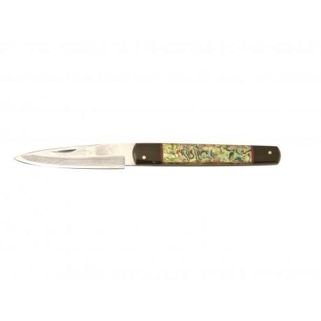 Expósito Machete Splitjoint Knife SVD/503-N - VG10 Abalone & Buffalo