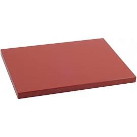 Durplastic - Planche à découper pour boucherie 50 x 30 x 2 cm Marron
