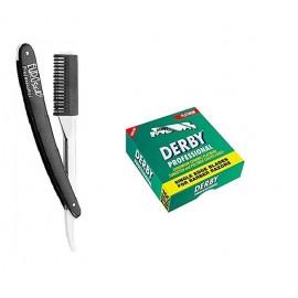 Eurostil shaving Razor changeable Blade & Comb 100 Blades