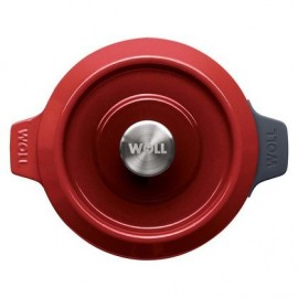 Pot en Fonte Chili Red de 20 cm - Woll Iron 120CI-010