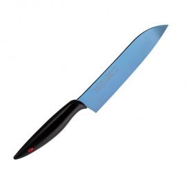Cocinero Japonés Titanium Azul, 18 cm.