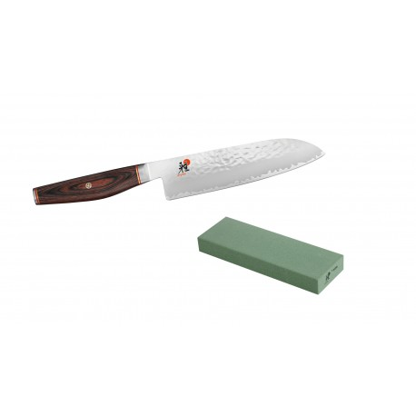 MIYABI 6000MCT Japanesse Santoku Knife 18 cm