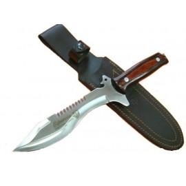 Knife Villegas Stamina - Red wood - Esparcia