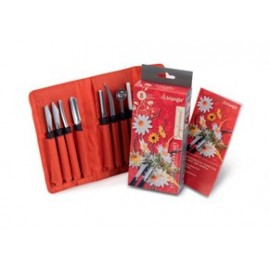 Triangle 908180802 Professional fruits & vegetable 8 Pieces Carving Tools Set