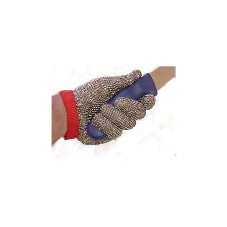 Guante de malla metálica