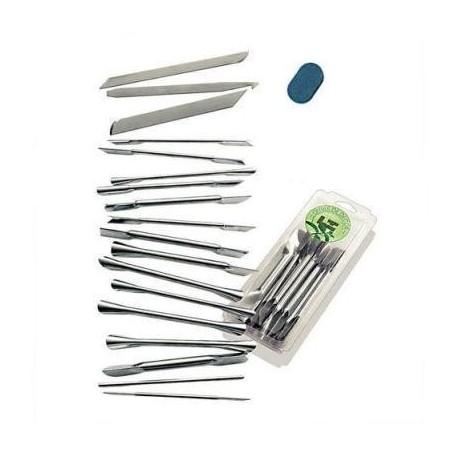 Tellier Kit de 18 ferramentas decoração